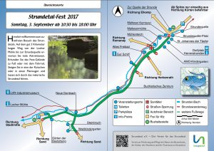 Veranstaltungsorte Strundetalfest 2017